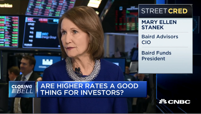 Mary Ellen Stanek on CNBC