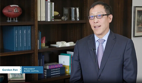 Video Thumbnail: Still of Gordon Pan, President of Baird Capital
