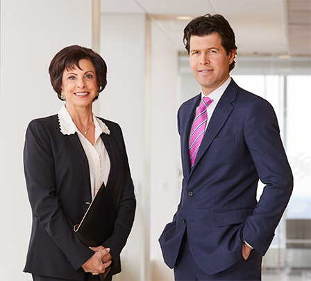 Photo of two Baird PWM Associates standing