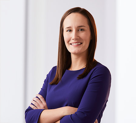 Portrait of female Baird Capital Associate