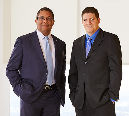 Photo of two Fixed Income Associates.