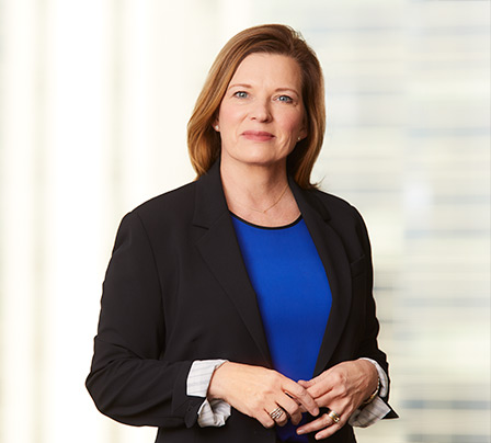Portrait of female Equity Capital Markets Associate