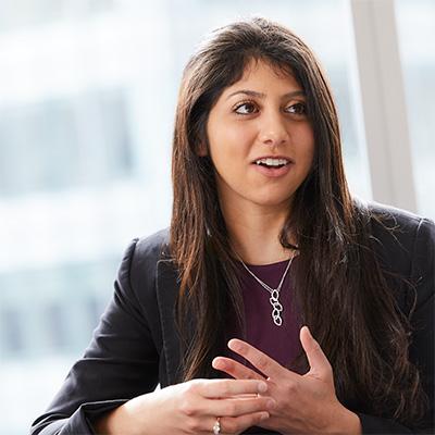 Photo of female Baird ECM Associate
