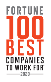 FORTUNE - 100 BEST COMPANIES TO WORK FOR 2020