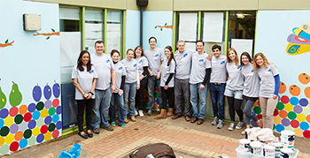 Baird Gives Back Volunteers