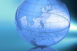 Abstract Globe