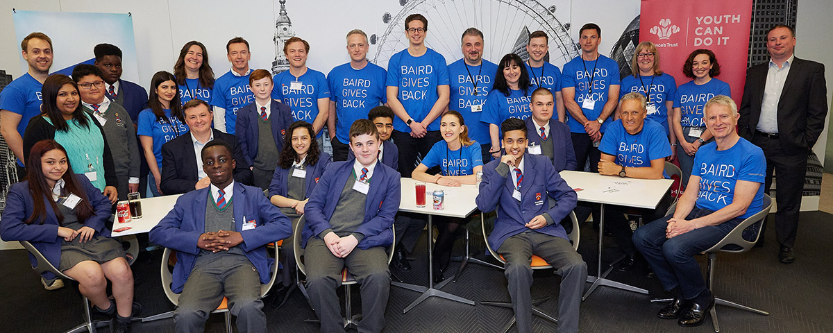 Prince's Trust Event Group of Participants