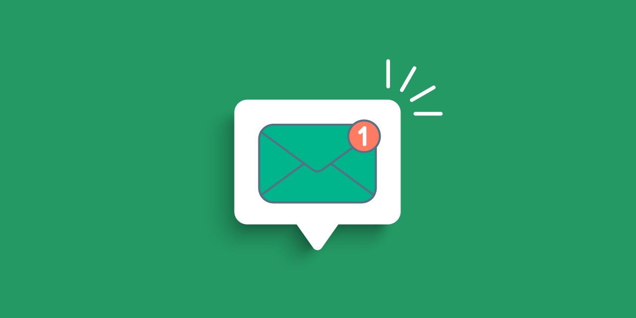 Green Envelope Icon