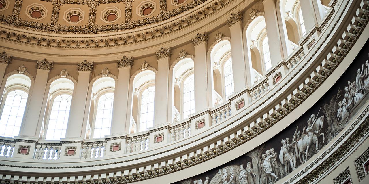 U.S. Capital Dome Interior