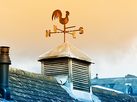 Weathervane on Roof: The case for Cautious Optimism