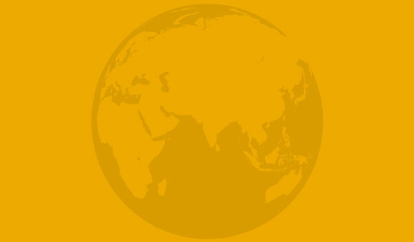Backed by Baird's Leading Platform - Opaque globe on yellow background