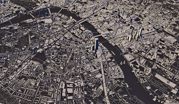 Why Baird's Perspectives Matter - 3D rendering of London