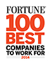 Named one of the Fortune 100 Best Companies to Work