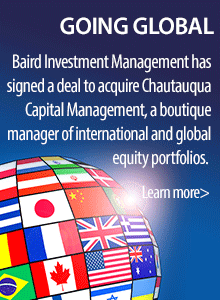 Baird Adds International Asset Management through Chautauqua