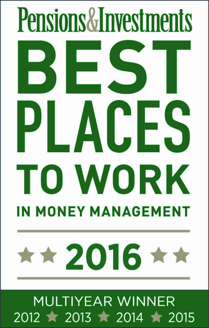 2016 P&I Best Places to Work