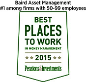 2015 P&I Best Places to Work