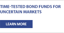 Time-Tested Bond Funds for Uncertain Markets