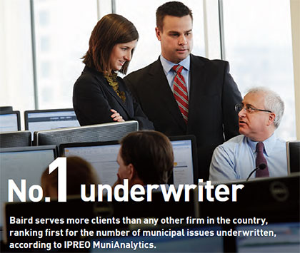 No. 1 Underwriter