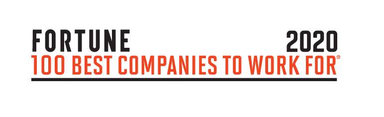 One of the Fortune 100 Best Companies to Work For 2020