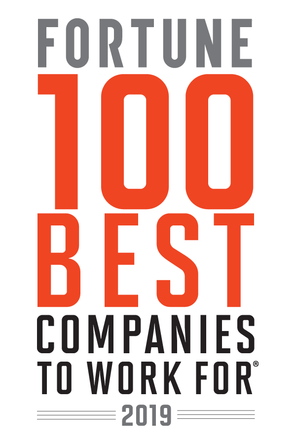 Fortune 2019 100 Best Companies to Work For