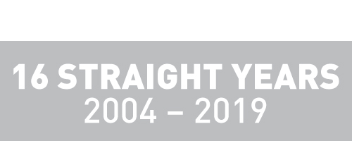 Fortune Recognition - 16 Straight Years
