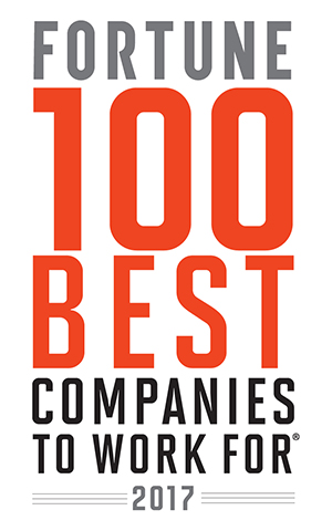 Fortune 2016 100 Best Companies to Work For