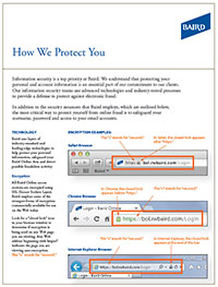 How We Protect You