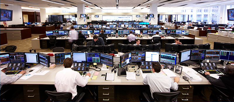 Baird Trading Floor