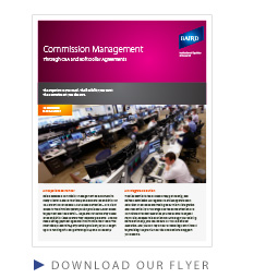 Commission Management Flyer
