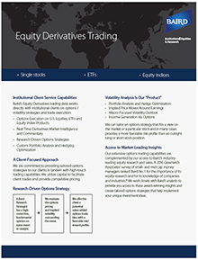 Equity options trader jobs
