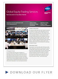 Global Equity Trading Flyer