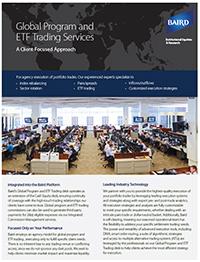Program Trading Flyer