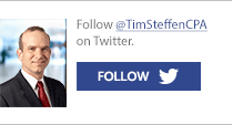 Follow @TimSteffenCPA on Twiter