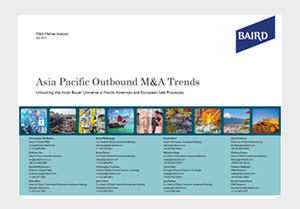 Asia Pacific Outbound M&A Accelerating