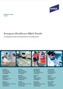 European Healthcare M&A Trends