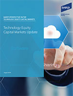 Technology Equity Capital Markets Update