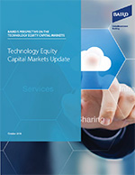 Technology Equity Capital Markets Update