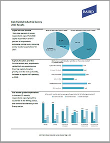 2017 Industrial Survey