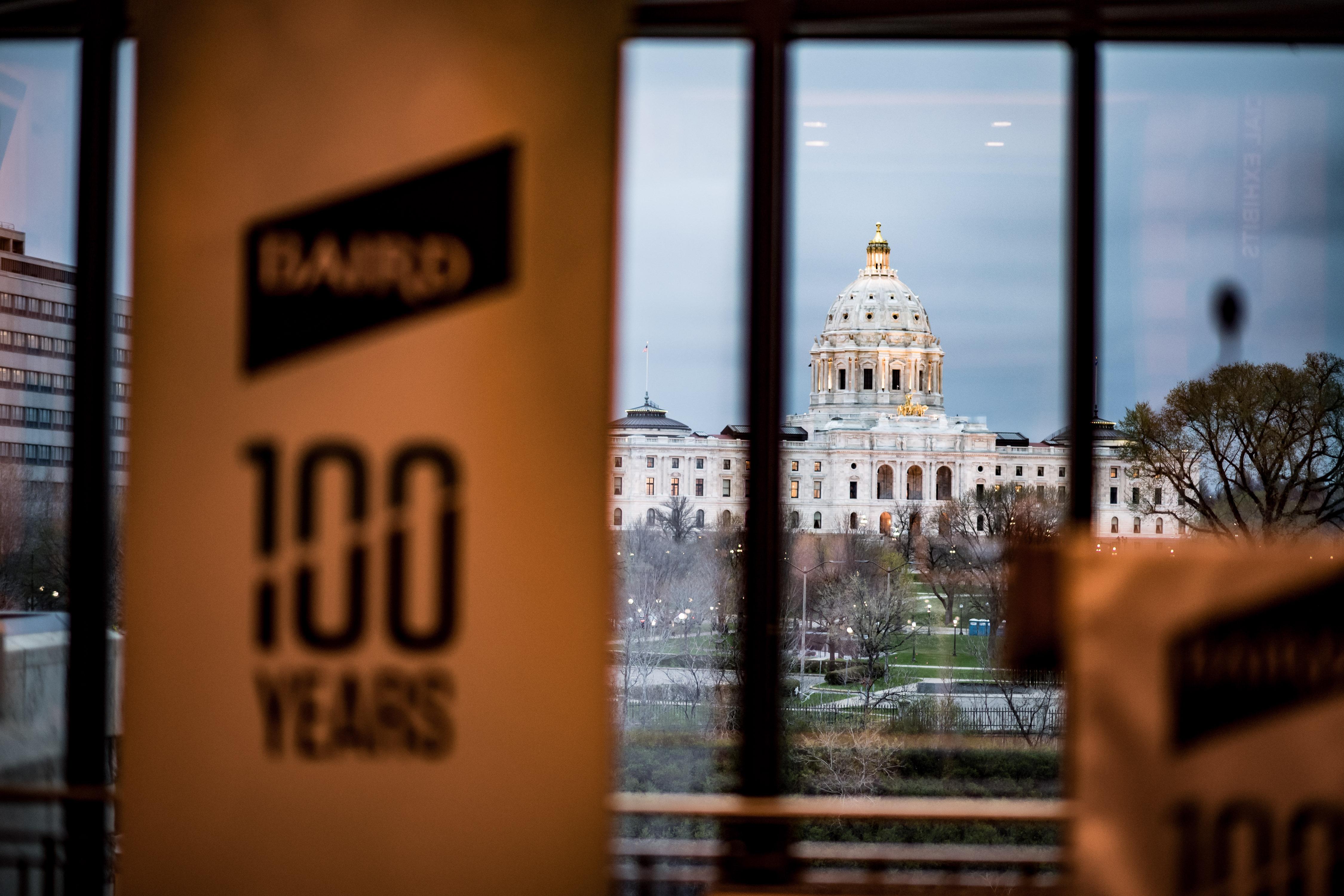 Baird 100 Year Banner