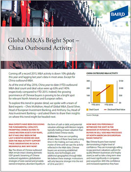 China Outbound Activity