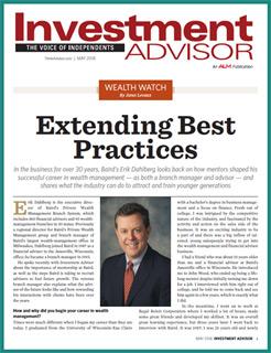 Investment Advisor: Q&A with Baird's Dahlberg