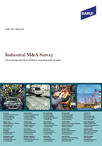 Industrial M&A Survey