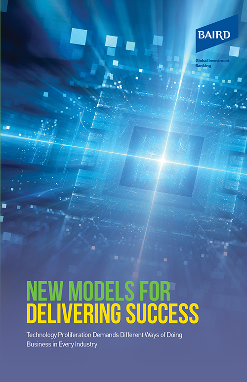 New Models for Delivering Success