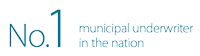 No. 1 municipal underwriter in the nation