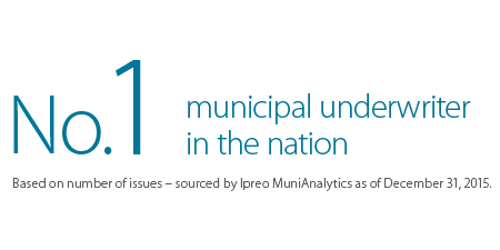 No. 1 Municipal Underwriter