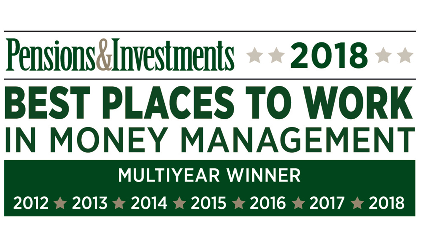 "Baird's Asset Management Businesses Recognized on Pensions & Investments' ""Best Places to Work"" List"