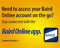 Baird Online app
