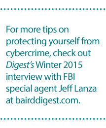 http://archive.bairddigest.com/sites/bairddigest/2015/winter/hacked.html#.V45HSvkrI-U