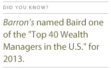 Barron's Top 40 Wealth Management