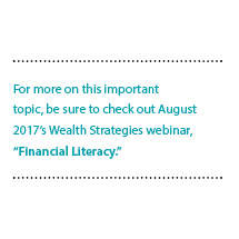 Building Financial Literacy